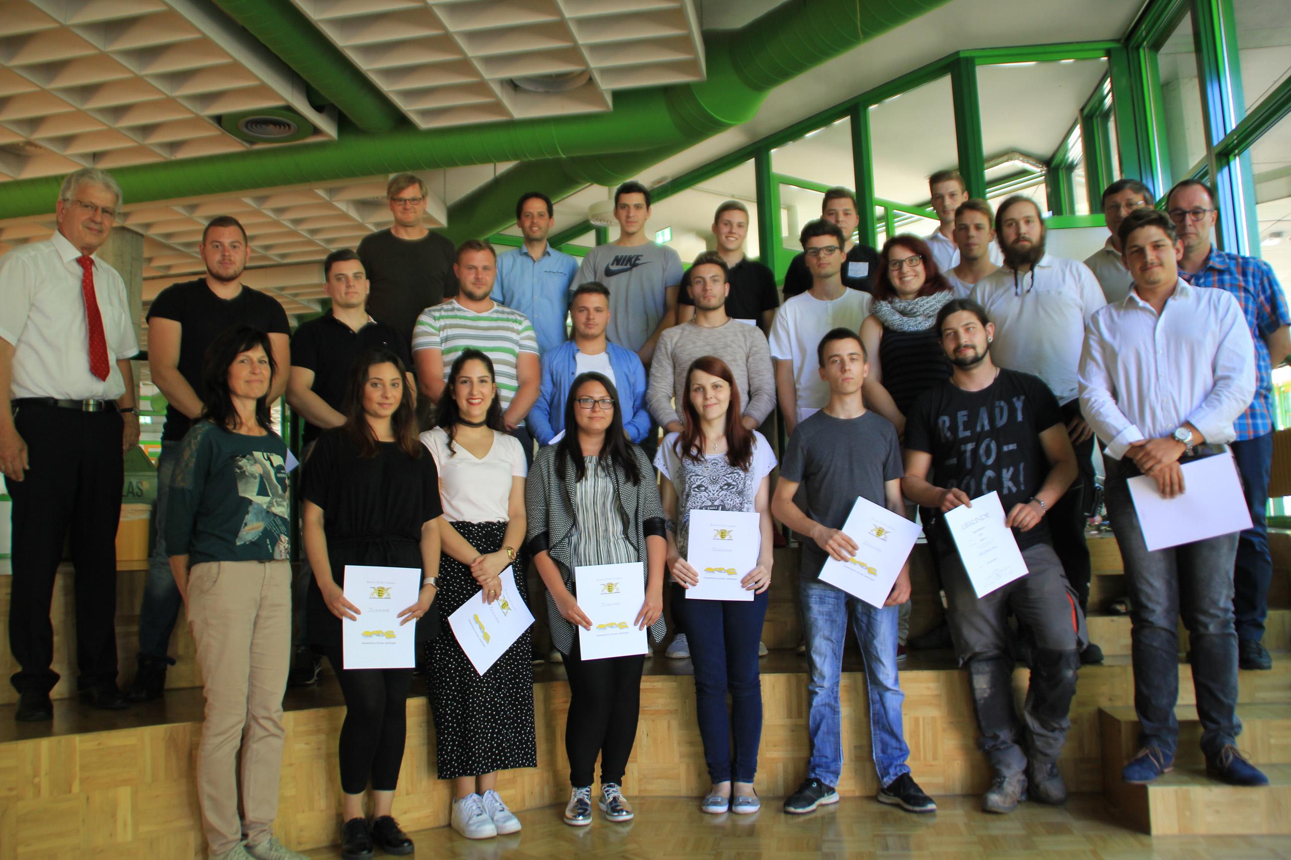Moldaschl Göppingen abschlussprüfung der berufsschule an der gewerblichen schule